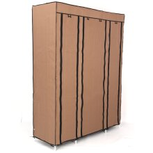 Canvas Wardrobe | Fabric Hanging Clothes Storage