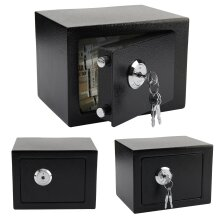 High Security Safes Key Lock Safety Strong Steel Box Home Office