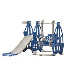 Kids Combined Slide Swing, Kiddie Plastic, Amusement Baby Play Set