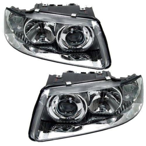 Audi A3 Mk1 2000-2003 Headlights Headlamps 1 Pair O/s & N/s
