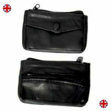 Women Real Leather Coin Bag Clutch Wallet Zipper Small Mini Pouch Purse