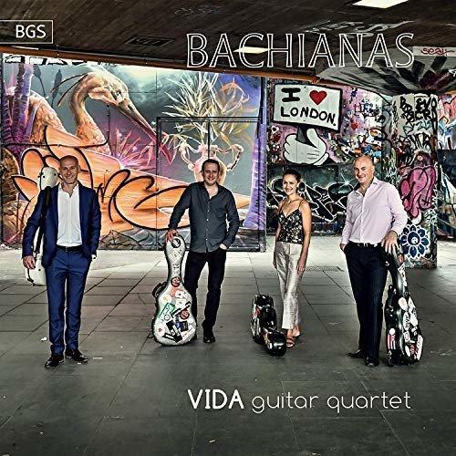 VIDA GUITAR QUARTET - BACHIANAS [CD]