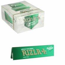 RIZLA GREEN KING SIZE Slim Smoking Rolling Paper