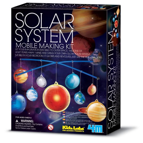 Solar System Mobile Making Kit - Kidz Labs
