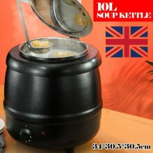 10L Soup Warmer Commercial Kettle Stainless Steel Electric Jug St