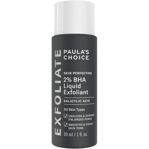 Paula's Choice Skin Perfecting 2% BHA Liquid Exfoliant - Salicylic Acid Exfoliator Peeling for Face - Blackhead, Whitehead & Blemish Remover - Combi