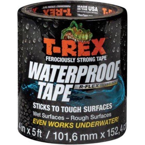 Duck Brand DUC285987 2 in. x 5 ft. T-Rex Waterproof Tape - Black