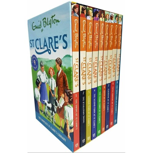 St Clare's Series Collection 9 Books Set by Enid Blyton