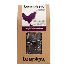 Teapigs English Breakfast Black Tea Bags Made With Whole Leaves (1 Pack of 50 Tea Bags)