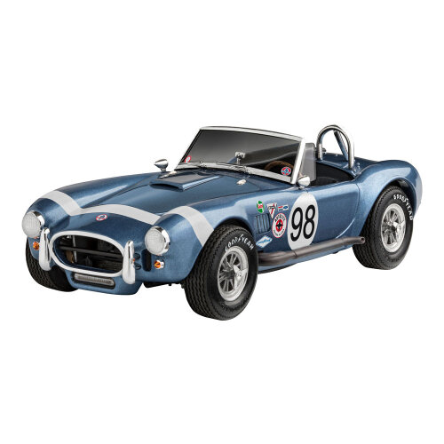 Revell 62 Shelby Ac Cobra 289 Model Set Skill Level 5 Scale 1:25 Blue 67669 67669