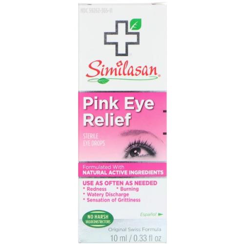 Similasan, Pink Eye Relief, Sterile Eye Drops, (10 ml)