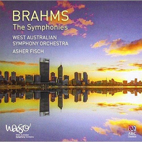 West Australian Symphony Orchestra Asher Fisch - Brahms:  the Symphonies [CD]