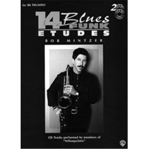Alfred 00-EL9607CD 14 BLUES & FUNK ETUDES EFLAT-BK&CD