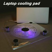 10-14 Inch Laptop Cooling Pad Laptop Cooler with Quiet LED Fan