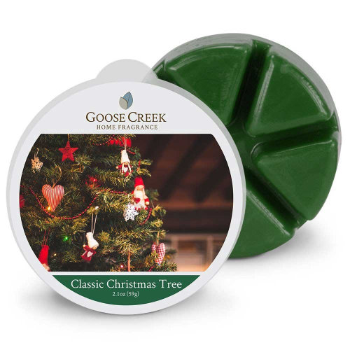 Goose Creek 2.1oz  Breakable Wax Melt Tart for Burners Classic Christmas Tree