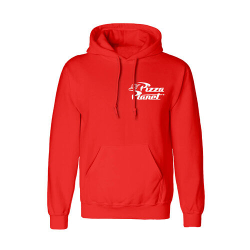 Toy Story Pizza Planet Logo Red Hoodie