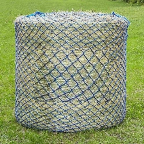 Round Bale Haynet Small Holes 50mm Slow Feed Hay Net 2.5 M x 1.5M