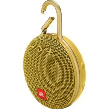 JBL Clip 3 Portable Bluetooth Speaker (Mustard Yellow)