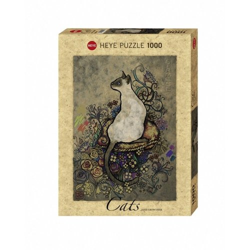 Hy29610 - Heye Puzzles - 1000 Pc - Cats Siamese