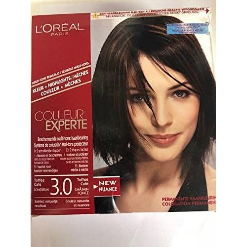 L'Oreal COULEUR EXPERTE 3.0 Toffee Cafe (couleur + mèches)
