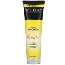 John Frieda, Sheer Blonde, Go Blonder, Lightening Shampoo, 245ml
