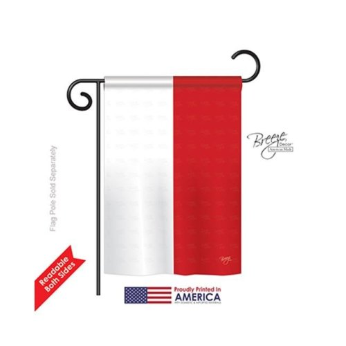 Breeze Decor 58257 Indonesia 2-Sided Impression Garden Flag - 13 x 18.5 in.