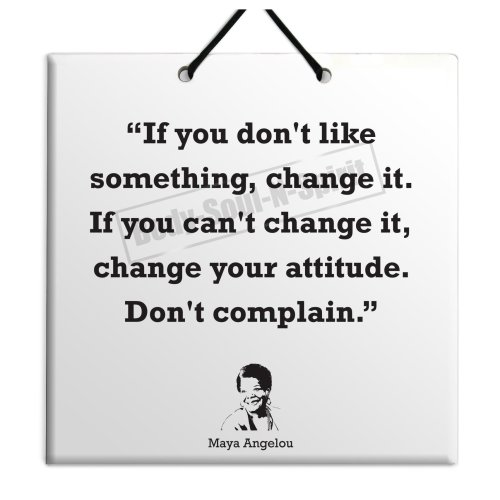 Maya Angelou - Buy Quote Ceramic Wall Hanging Plaque TILE Home Decor Gift Sign