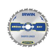 Irwin 1897448 Construction Circular Saw Blade 250 x 30mm x 24T ATB