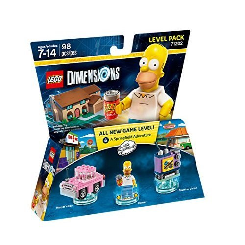 LEGO Dimensions The Simpsons Level Pack   Wave 1 71202 Add-On