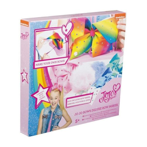 Official Jojo Siwa Deluxe Bows and Pom Pom Keyring Maker - Brand New