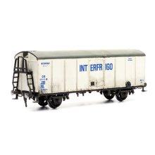 Interfrigo Refrigated Van - Dapol Kitmaster C042 - OO plastic Wagon model kit