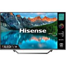 HISENSE 55U7QFTUK Quantum Series 55-inch 4K UHD HDR Smart TV with Freeview play, and Alexa Built-in (2020 series) - Refurbished
