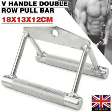 Multi Gym Attachment V Handle Double Row Close Grip Pull Bar