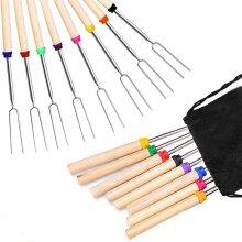 FANSIR Barbecue Forks Set of 8