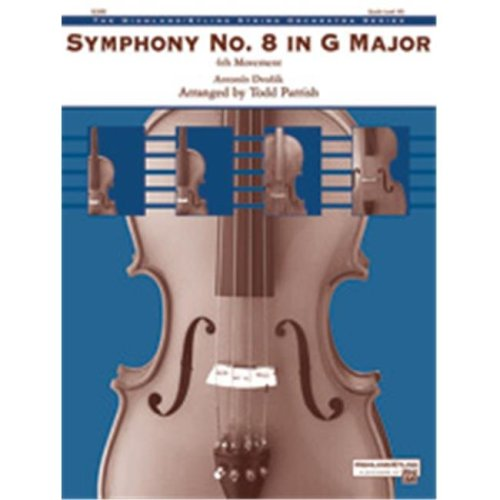 Alfred 00-40480 SYMPHONY NO 8 IN G MAJOR-HSO