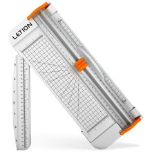 LETION A4 Paper Cutter, 12In Scrapbooking Tool Automatic Security