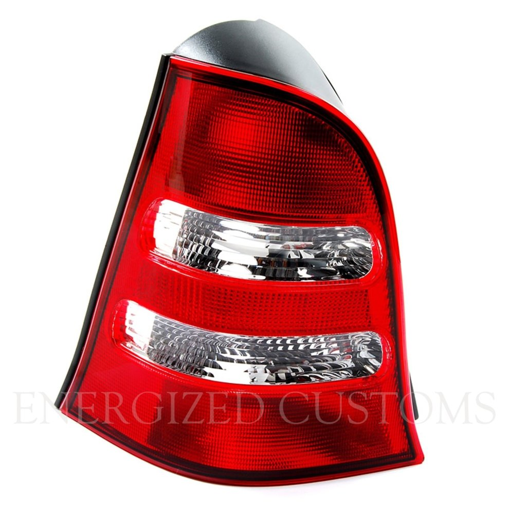 Mercedes A Class W168 2001-2005 Clear Rear Tail Light Lamp Pair Left /& Right