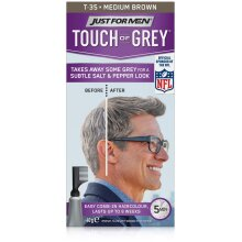 Just For Men Touch Of Grey Hair Colour - T35 Medium Brown