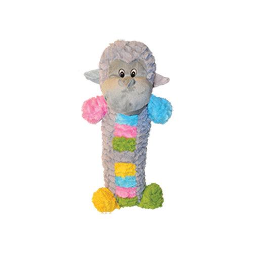 Gor Patchwork Pet Pastel Monkey Stick Dog Toy 20 inch