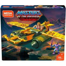 He-Man Mega Construx Masters Of The Universe Wind Raider Attack Building Set