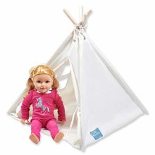 Bluenido Princess Teepee Tent Dollhouse Perfect for 18 American Girl Dolls+