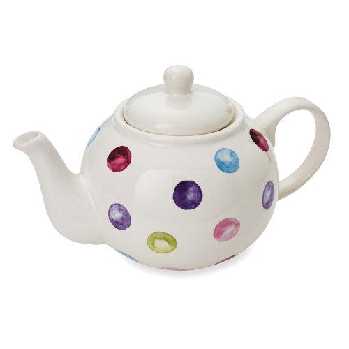 Cooksmart Spotty Dotty Teapot