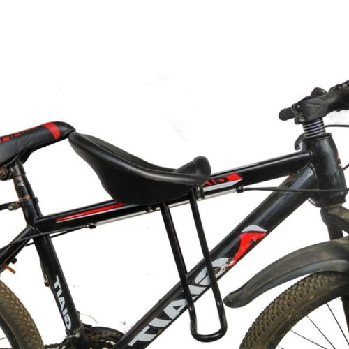 (As Seen on Image) Mountain Bike Baby Child Seat / Portable Foldable Kids Bicycle Carrier