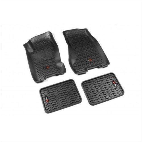 Passenger /& Rear Floor GGBAILEY D3942A-S1A-GY-LP Custom Fit Car Mats for 2011 2012 Scion tC Grey Loop Driver
