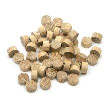 Oak Endgrain Plug 10mm - Pack of 100