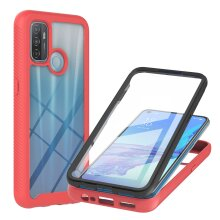 Case for OPPO A53 Screen Protector -Red