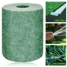 Biodegradable Grass Seed Mat Fertilizer Garden Picnic Eco- friendly 20*300cm