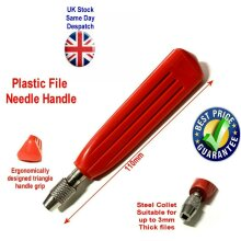 Plastic Needle File Handle with Collet
