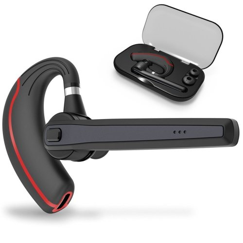 Azally Bluetooth Headset Wireless Earpiece For Cellphones Bluetooth 4 1 In Ear Piece Hands Free Earbuds Headphone W Mic Noise Cancelling For On Onbuy