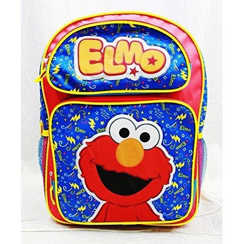 Backpack - Sesame Street - Elmo Red Large School Bag New ss20500